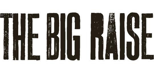 The logo of The Big Raise