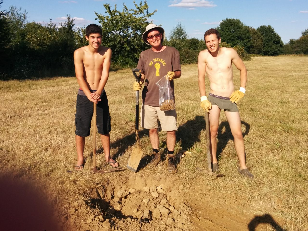 Hole diggers extraordinaire