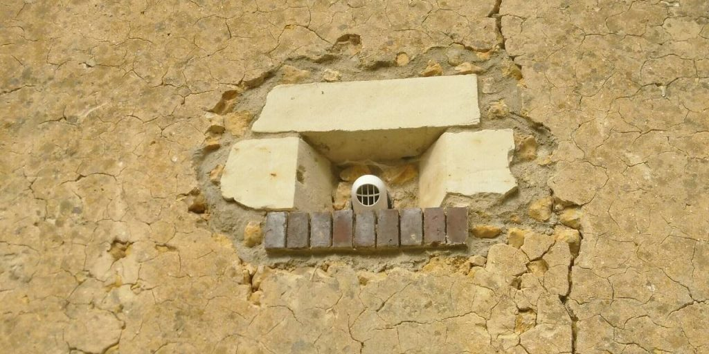 Stonework around VMC exit